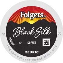 Folgers Black Silk Dark Roast Coffee, 192 K Cups for Keurig Coffee Makers