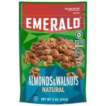 Emerald Nuts, Natural Almonds, 5 Ounce Resealable Bag