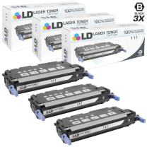 LD Remanufactured Toner Cartridge Replacement for Canon 111 1660B001 (Black, 3-Pack)