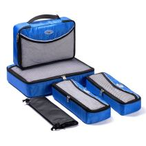 SOHO Diaper Bag Baby Packing Cubes Travel Organizers Extensible Storage Mesh Bags Organizers (Galaxy Blue)