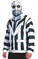 Rubie's Costume Men's Beetlejuice Adult Costume Hoodie
