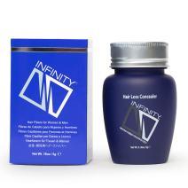 Infinity Hair Fiber - Hair Loss Concealer - Hair Thickening Fiber for Men & Women – Cinnamon,5g