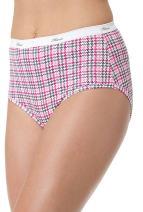 Hanes Women's Plus Cotton Brief 5-Pack P540AD 12 Assorted