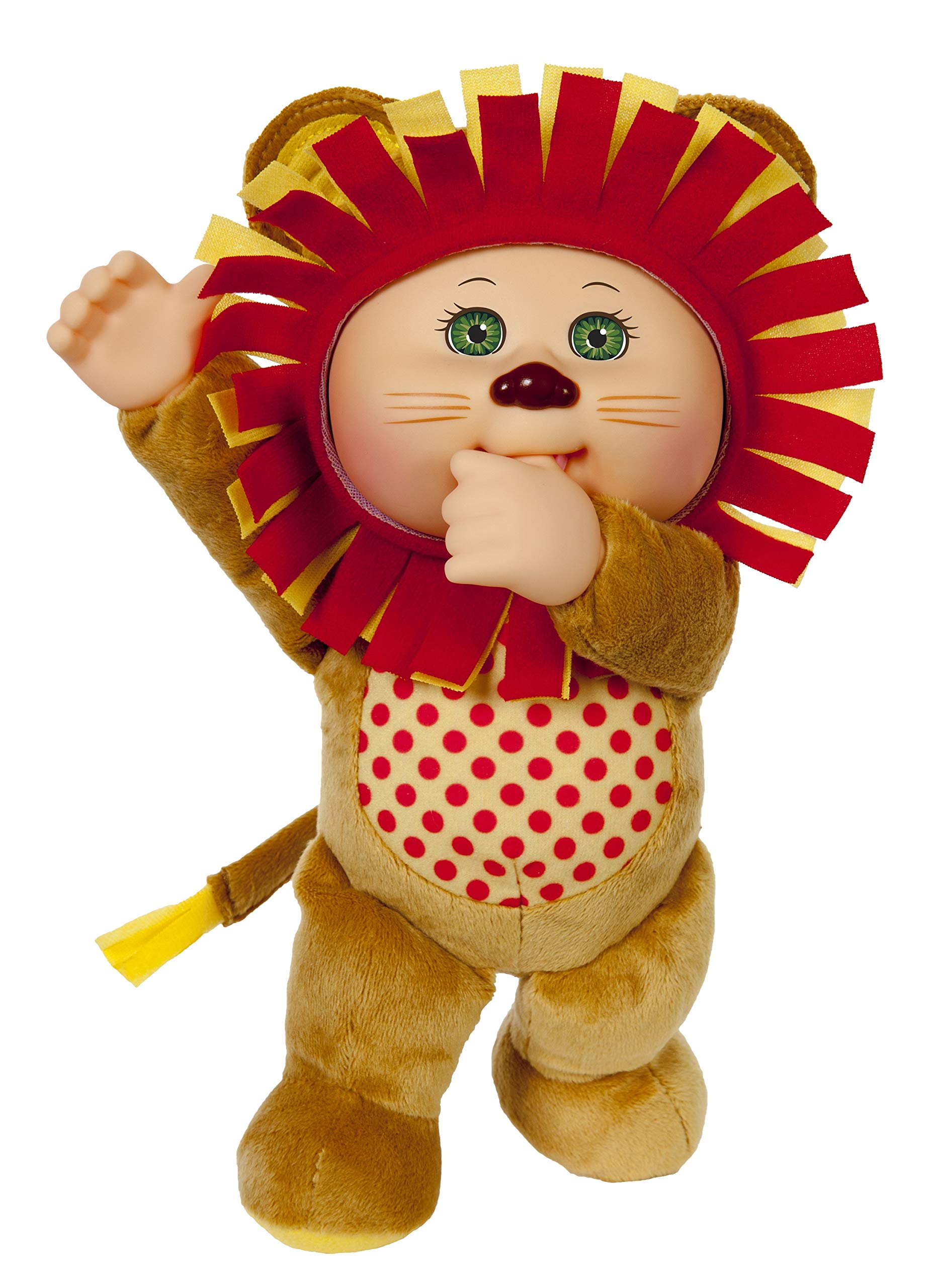 """Cabbage Patch Kids 9"""" Austin Lion Zoo Cutie"""