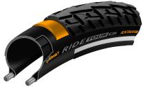Continental Ride Tour Cross/Hybrid Bicycle Tire - Wire Bead (Black - 700 x 37C)