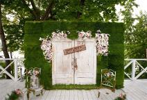 AOFOTO 8x6ft Secret Garden Backdrop Wedding Photography Background Flowers Bridal Shower Girlfriend Artistic Portrait Party Drape Photo Shoot Studio Props Video Drop Seamless Vinyl Wallpaper