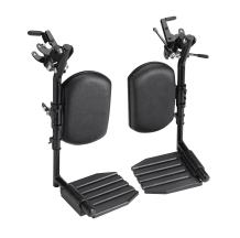 Invacare Wheelchair Elevating Legrests, Composite Footplates, Padded Calf Pads, 1 Pair, T94HCP,Black