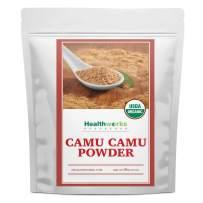 Healthworks Camu Camu Powder Organic (8 Ounces)   All-Natural & Certified Organic   Antioxidants, Vitamin C & Potassium   Peruvian Origin   Juices, Teas & Smoothies