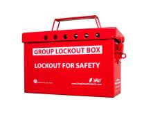Zing Green Products 6061R RecycLockout Group Lockout Box (Red)