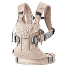 BABYBJÖRN Baby Carrier One Air, Mesh, Pearly Pink