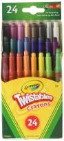 Crayola Twistables Mini Crayons 24 ea (Pack of 2)