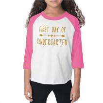 Bump and Beyond Designs 1st Day of Kindergarten Shirt Back to School Outfits for Girls
