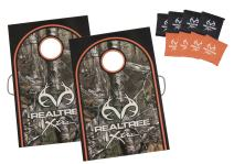 Triumph Reeltree Classic 2x3 Cornhole Set - Includes 2 Reeltree Boards, 8 All-Weather Cornhole Bags