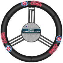 Fremont Die MLB Leather Steering Wheel Cover