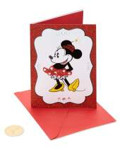 Papyrus Birthday Card for Her (Minnie Mouse)