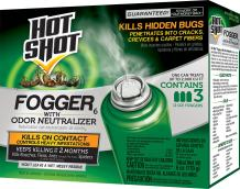 Hot Shot HG-96180 Fogger With Odor Neutralizer, Aerosol, 3/2-Ounce, Pack of 12