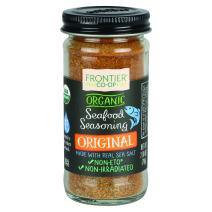 Frontier Organic Seafood Seasoning, Original, 2.8 Ounce