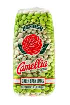 Camellia Green Baby Lima Beans 1 Pound Bag