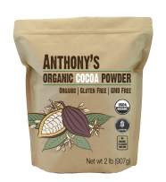 Anthony's Organic Cocoa Powder, 2 lb, Batch Tested and Verified Gluten Free & Non GMO