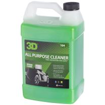 3D All Purpose Cleaner - 1 Gallon | Safe, Biodegradable Degreaser | Environmentally Friendly Car Care | Removes Spots, Dirt, Grime & Grease Stains | Made in USA | All Natural | No Harmful Chemicals