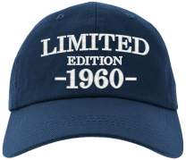 Cap 60th Birthday Gifts, Limited Edition 1960 All Original Parts Baseball Hat