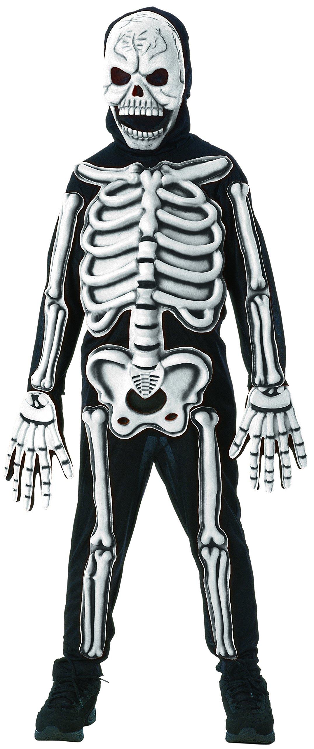 Kids 3D Skeleton Halloween Costume