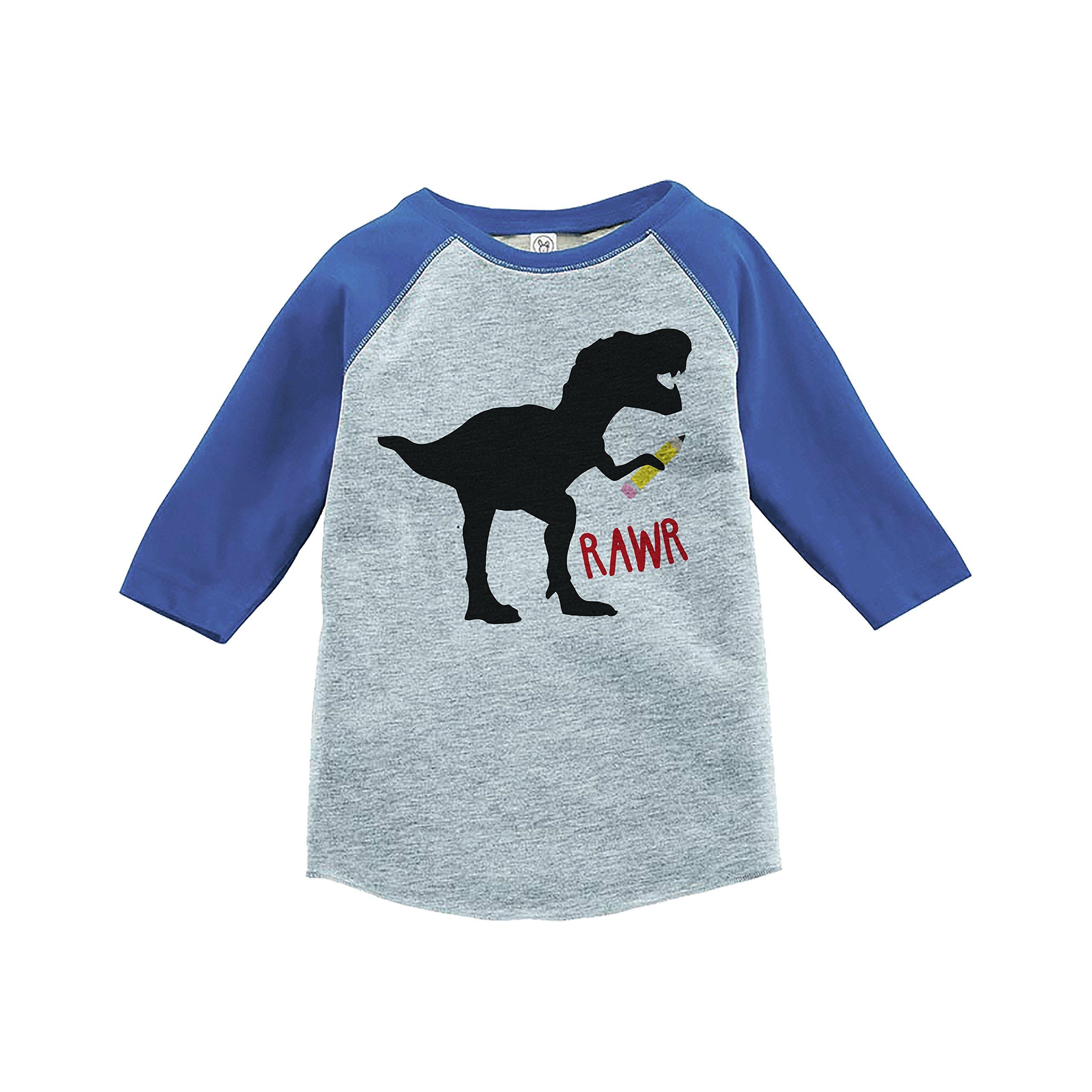 7 ate 9 Apparel Kids Dino Dinosaur School Shirt