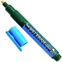 Pentel Arts Wet Erase Chalk Marker, Chisel Tip, Blue Ink, Box of 12 (SMW26-C)