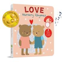 Cali's Books Love Nursery Rhymes to Celebrate Love - Press, Listen and Sing Along! Sound Book - Best Interactive and Educational Gift for Baby and Toddler: Girl and Boy 1-4 Years Old