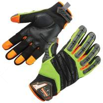 Ergodyne ProFlex 924 Impact Reducing Work Gloves with Back Hand Protection X-Large