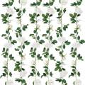 SHACOS Artificial Rose Garlands Rose Vines Leaves Hanging Rose Flower Vine Home Wedding Party Decor (White, 2)