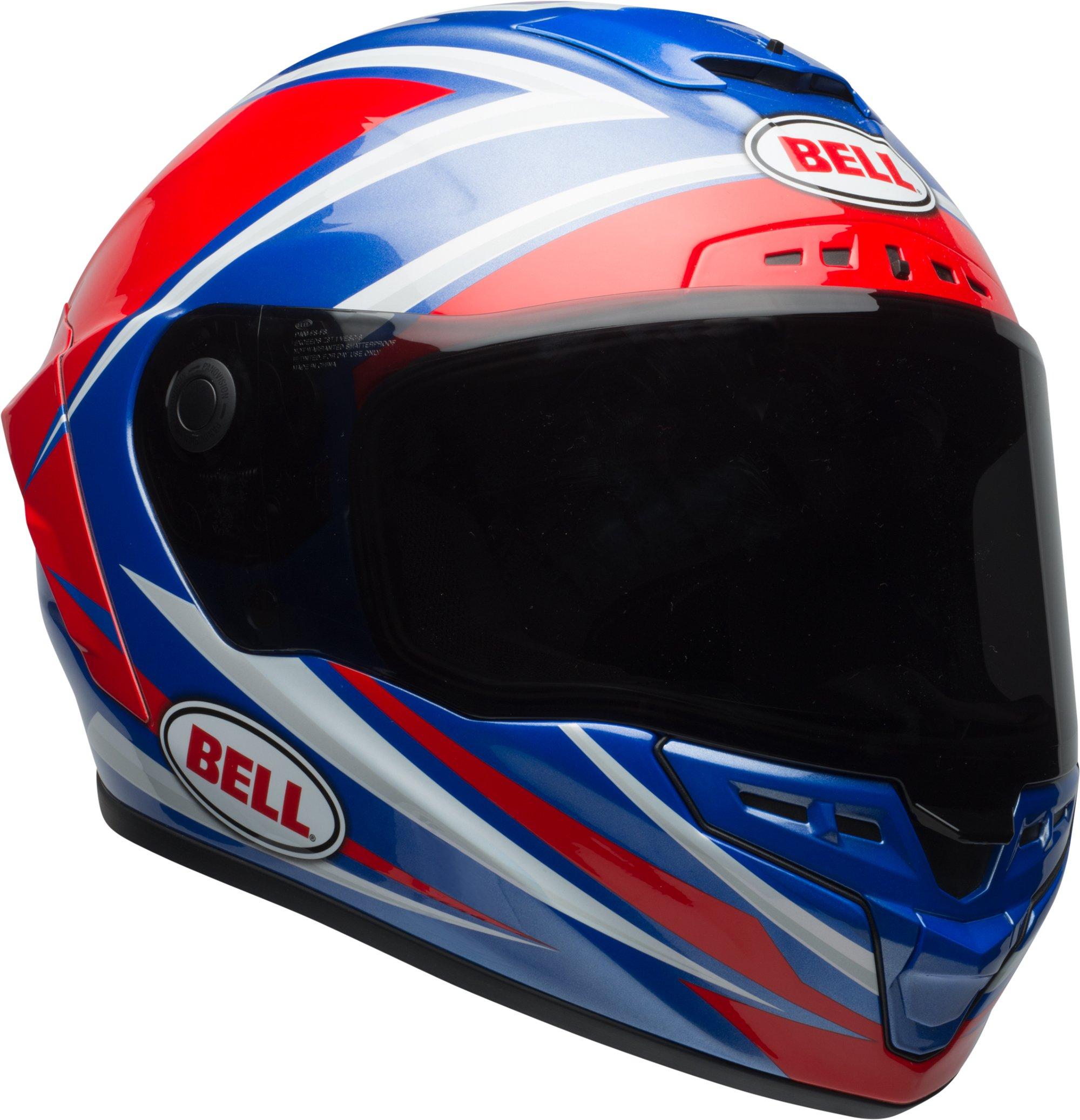 Bell Star MIPS Torsion Motorcycle Helmet (Red / Blue - X-Large)