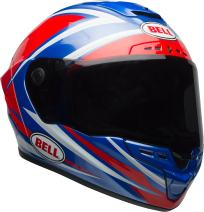 Bell Star MIPS Equipped Street Motorcycle Helmet (Gloss Red/Blue Torsion, Medium)