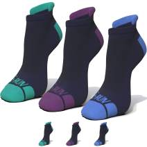G-Run 3 Pack No Show Low Cut Blister Resistant Running Socks Moisture Wicking Sock Athletic For Men and Women