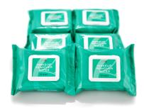 Natural Makeup Remover Facial Cleansing Wipes from 1790 Are the Best Gentle Towelettes For Your Face - Remove Eye Makeup - Kind to Your Skin - Blemish Free Finish (25 Count, Pack of 6)