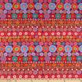 FreeSpirit Fabrics Kaffe Fassett Collective for Row Flowers Red Fabric Fabric by the Yard