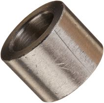 """Round Spacer, 18-8 Stainless Steel, Plain Finish, #8 Screw Size, 1/2"""" OD, 0.166"""" ID, 2-1/2"""" Length, Made in US"""