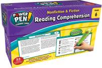Teacher Created Resources Power Pen Learning Cards: Reading Comprehension Grade 6 (6469)