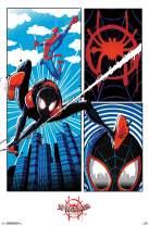 "Trends International Comics Movie Enter Marvel Cinematic Universe Man: Into The Spider-Verse-Panel, 22.375"" x 34"", Premium Unframed"