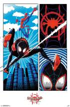 "Trends International Comics Movie Enter Marvel Cinematic Universe Man: Into The Spider-Verse-Panel, 22.375"" x 34"", Premium Unframed"