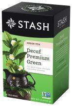 Stash Tea Decaf Premium Green Tea, 6 Boxes of 18 Tea Bags Each (108 Tea Bags Total)