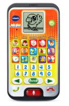 VTech Call & Chat Learning Phone, Orange, Great Gift For Kids, Toddlers, Toy for Boys and Girls, Ages 2, 3, 4, 5