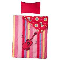 Maplelea Harmony Bedding for 18 Inch Doll Bed, Includes Sleeping Bag, Mattress, Pillow and Sheet.