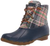 Sperry Top-Sider Women's Saltwater Washed Plaid Rain Boot