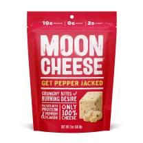 Moon Cheese - 100% Natural Cheese Snack - Pepper Jack - 2 oz - 12 Pack