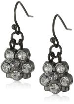 1928 Jewelry Petite Flower Drop Earrings