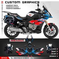 Kungfu Graphics Custom Decal Kit for 2015 2016 2017 2018 2019 S1000XR (ONLY Side Case Graphics), BMXRBOX1519011