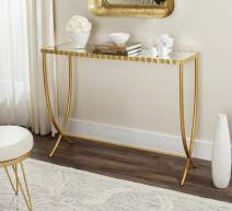 Safavieh Home Collection Princess Mirror Top Console Table, Gold