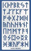 Aleks Melnyk #35 Metal Journal Stencil/Elder Futhark Runes, Ancient Alphabet/Stainless Steel Stencil 1 PCS/Template Tool for Wood Burning, Pyrography and Engraving/Scrapbooking/Crafting/DIY
