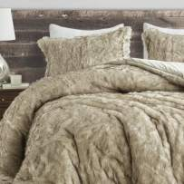 Coma Inducer Oversized Twin XL Comforter - Arctic Bear - Tundra Brown
